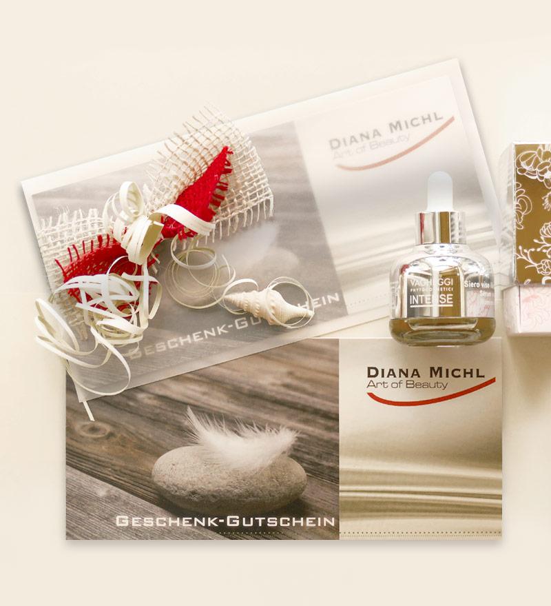 Kosmetikstudio Geschenk-Gutschein für die Region Muhr am See, Gunzenhausen, Weißenburg, Wassertrüdingen, Oettingen und Ansbach.